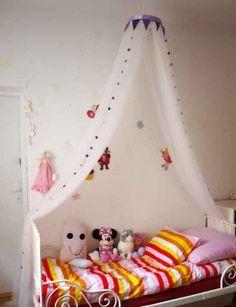 Как сделать балдахин для детской кроватки своими руками