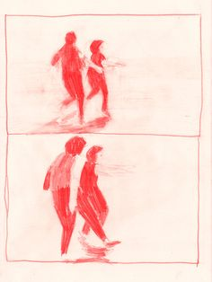 ttenderly: sylvia—plaque: red pencil sketch Jenny Wildfang, 2013