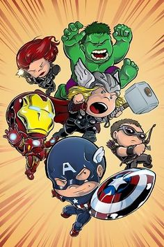 baby avengers comic | Avengers Babies!