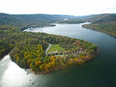 Leave your worries behind when you arrive at Lake Raystown Resort, a secluded glampground that adds a bit of luxury to your typical camping experience.