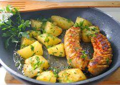 Buniabaje w kuchni: Biała kiełbasa marynowana w ketchupie Shrimp, Meat, Food, Essen, Meals, Yemek, Eten