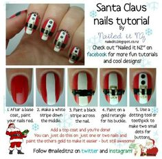 Christmas Nail Art Ideas 2013: Tutorial Christmas Nail Art Ideas ~ Nail Art Inspiration