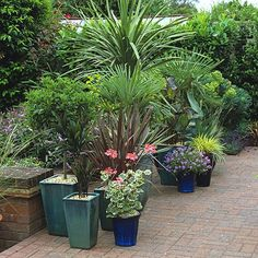 Garten Terrasse Wohnideen Möbel Dekoration Decoration Living Idea Interiors home garden - gepflasterte Terrasse