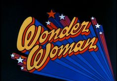 Wonder Woman - ABC Season 1 (1975-76) title scene from the opening/intro.