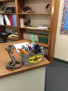 Male Teacher Classroom Decor. 4th Grade.