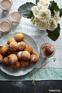 `Did someone say Cinnamon-Sugar Doughnut Bites? No, seriously. Where are they?