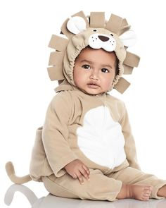 eb7605032 Carters LION Zoo Baby Animal Halloween Costume Plush 2pc ADORABLE 18 months  NWT #Carters #