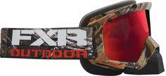 FXR Racing - Snowmobile Gear - Mission Sno Goggle - Camo