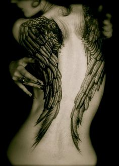 Looking for a new set of wings :)  #angelwings #tattoo