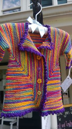 Ravelry: annarie18's Baby Surprise Jacket