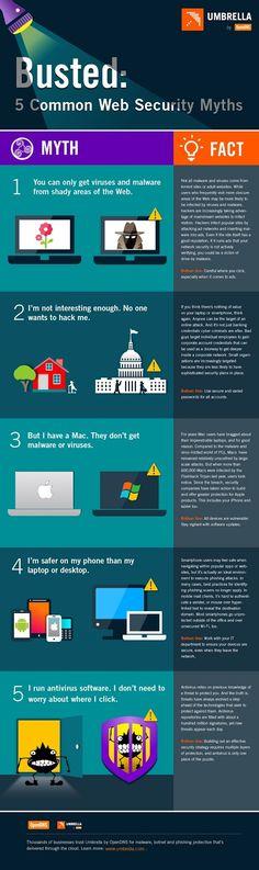 5 mitos de la seguridad derribados