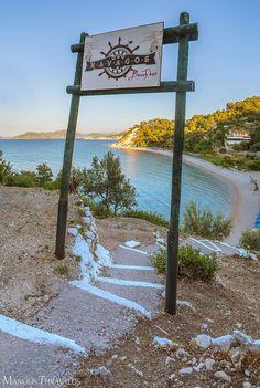 Navagos beach bar, Samos, Greece