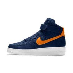 Nike Air Force 1 High Premium iD (Utah Jazz) Men's Shoe Size 11.5 (Blue)