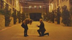 He told her they were shooting a short film together, and she had no idea he was planning to propose! This entire story is amazing, and their video is so worth the watch.