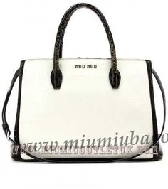 Cheap Miu Miu Cracked-Leather Tote Outlet Sale in 2013/2014