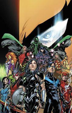 Titans by Phil Jiménez