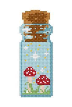 Cross Stitch Art, Cross Stitch Designs, Cross Stitching, Cross Stitch Embroidery, Kawaii Cross Stitch, Easy Cross Stitch Patterns, Diy Perler Beads, Perler Bead Art, Pixel Pattern