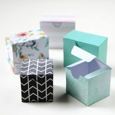 Printable Diy Gift Boxes