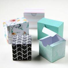 Printable Diy Gift Boxes