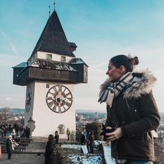Graz, Austria, Uhrturm (Clocktower) travel