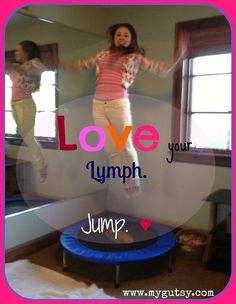 Jump-Out the Toxins (Rebounding for Lymph Drainage Information about the Lymph System and Other Methods to Take Care of the Lymph) massage management Lymphatic Massage, Trampoline Workout, Trampoline Jump, Cellulite Scrub, Lymphatic System, Alternative Health, Holistic Healing, Natural Healing, Massage Therapy