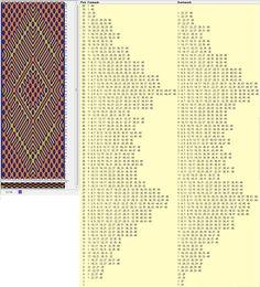 48 tarjetas, 3 colores, completa dibujo en 80 movimientos // sed_189a diseñado en GTT༺❁