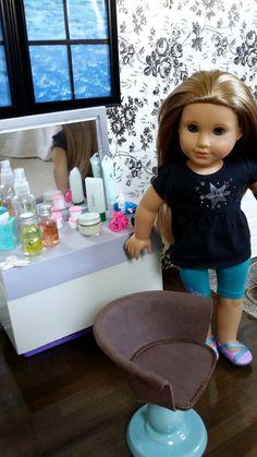 Craft: Make a Doll Salon Chair