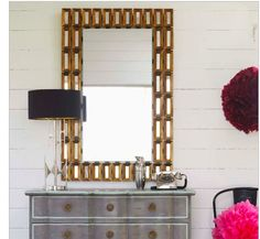 Satin brass mirror to go with satin brass doorhandles? Need to find satin brass wall lights?