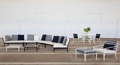 Virginia Beach Furniture and Interior Design Willis Furniture Outdoor Fabric, Outdoor Sofa, Outdoor Living, Outdoor Decor, Outdoor Furniture Design, Trendy Furniture, Brown Jordan, Interior And Exterior, Interior Design