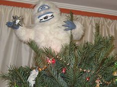 Turn Bumble from Rudolph the Red-Nosed Reindeer into a Christmas guardian. | 15 Tree Toppers You Didn't Know You Needed This Holiday Season