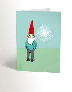La carte NAIN DE JARDIN Henna, Disney Characters, Fictional Characters, Stationery, Etsy, Vintage, Christmas Ornaments, Disney Princess, My Love