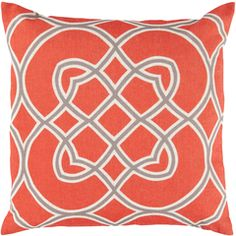 Impose a trendy and profound look to your home or office decor by adding this Artistic Weavers Cagliari Poly Euro Pillow. In China, Throw Pillow Covers, Throw Pillows, Trellis Pattern, Geometric Pillow, Geometric Patterns, Geometric Designs, Accent Pillows, Accent Chairs