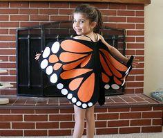 Fantasia de criança para Carnaval – Borboleta (Meninas) | http://nathaliakalil.com.br/fantasia-de-crianca-para-carnaval-meninas/
