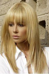 Long fringe hairstyles blonde hair fringe, blonde fringe hairstyles, long hairstyles with bangs, Full Fringe Hairstyles, Messy Hairstyles, Hairstyle Ideas, Beehive Hairstyle, Bangs Hairstyle, Wedding Hairstyles, Black Hairstyles, Wedge Hairstyles, Brunette Hairstyles