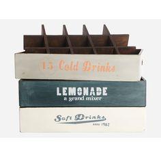 Colored Soda Opbevaringsboks Lemonade, House Doctor