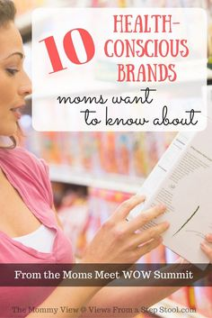 Here are 10 health-conscious brands that moms would be happy to know about. A first-hand experience and sampling from the WOW Summit.