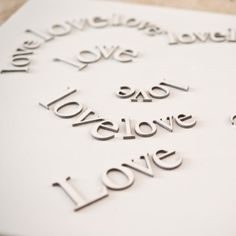 """Look at this canvas picture with """"love"""" labels creating a heart-shape! It's cm, but you can order a bigger one, if you write a message! Love Label, Made In Heaven, Canvas Pictures, Heart Shapes, That Look, Messages, 3d, Writing, Create"""