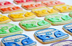 """lil Blue Bus: Vw Bus Cookies at """"I am a Baker"""""""