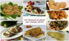 10 secondi di pesce per Natale 2014 10 seconds of fish for Christmas 2014 (easy recipes) . Fish Recipes Dairy Free, Easy Recipes, Seafood Paella, Baked Cod, Shellfish Recipes, Sweet Chili, Christmas 2014, Salmon Recipes, Bacon