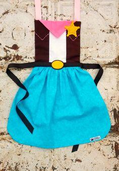 SHERIFF CALLIE Disney Junior Jr. inspired Child Costume APRON.