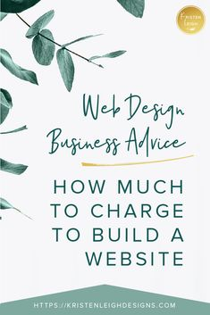 Are you looking to create your online packages for your web designer company? Learn how much you should charge to build a wordpress website. I dive into tips for your web design business so you can make your online business profitable. Design Websites, Web Design Tips, Web Design Trends, Web Design Company, Web Design Inspiration, Wordpress, Business Website, Online Business, Web Design Tutorial