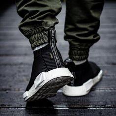 46 Adidas NMD_CS1 GTX PK Gore Tex City Socks White Black Shoes Mens Sz 11 BY9404