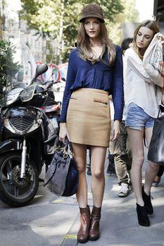 hat+skirt+boots