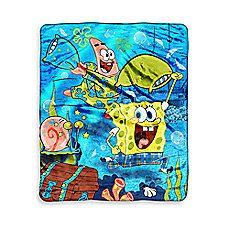 Children's Character Blanket - Spongebob