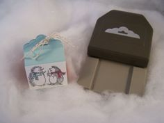 Stampin' Up! Scallop Tag Topper Punch