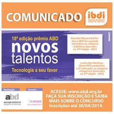 Prêmio Novos Talentos ABD inscreva-se e participe! #prêmioABD #NovosTalentos #IBDI #cursos #educação