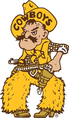 Wyoming Cowboys Alternate Logo - NCAA Division I