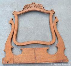espejo de la cmoda espejos de tocador espejos pintados aparadores bricolaje espejo antiguo fiesta de bricolaje idee deco