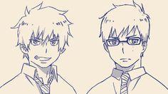 Rin and Yukio.