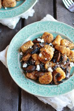 Crispy Brown Butter Sweet Potato Gnocchi with Balsamic Caramelized ...
